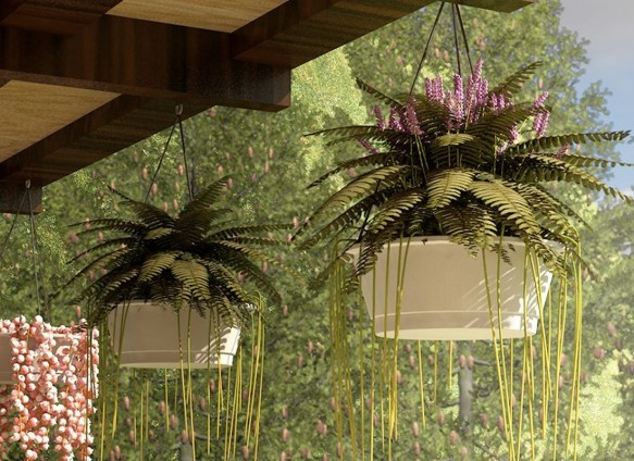 Latest Home Patio Design With Hanging Plants 31