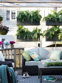 Latest Home Patio Design With Hanging Plants 33