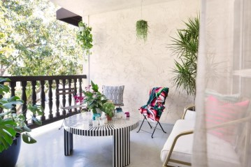 Latest Home Patio Design With Hanging Plants 44