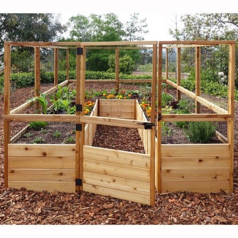 Outstanding Diy Raised Garden Beds Ideas 49