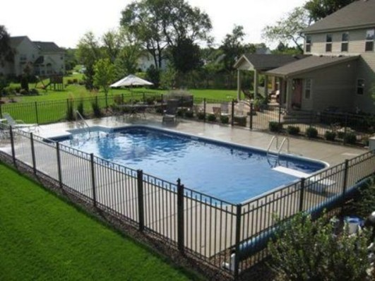 Perfect Backyard Home Design Ideas With Swimming Pool 01