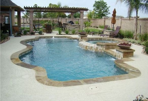 Perfect Backyard Home Design Ideas With Swimming Pool 09