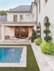 Perfect Backyard Home Design Ideas With Swimming Pool 15