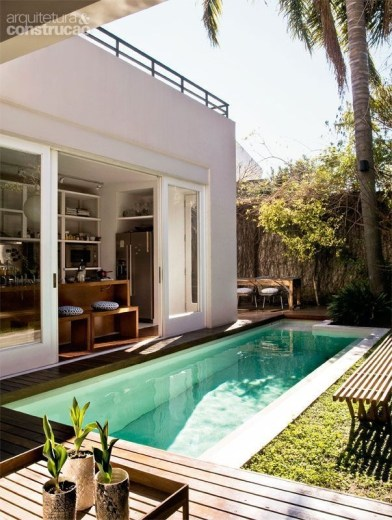 Perfect Backyard Home Design Ideas With Swimming Pool 17
