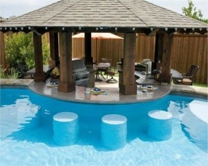 Perfect Backyard Home Design Ideas With Swimming Pool 20