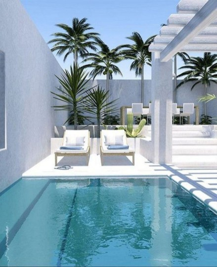 Perfect Backyard Home Design Ideas With Swimming Pool 30