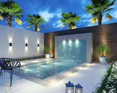 Perfect Backyard Home Design Ideas With Swimming Pool 41