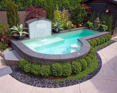 Perfect Backyard Home Design Ideas With Swimming Pool 42
