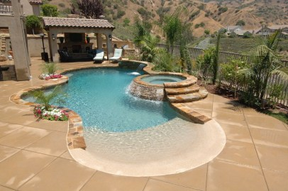 Perfect Backyard Home Design Ideas With Swimming Pool 46