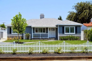 Wonderful Front Yard Ideas With Contemporary Fence 02