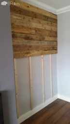 Chic Diy Pallet Wall Art Ideas To Try 03