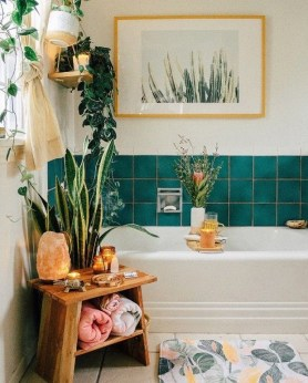 Comfy Bathroom Decor Ideas To Try This Year 06