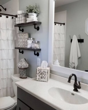 Comfy Bathroom Decor Ideas To Try This Year 34