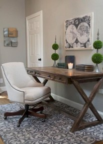 Creative Farmhouse Desk Ideas For The Home Office To Try 03