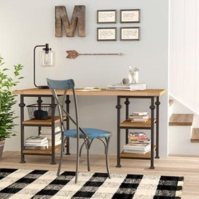 Creative Farmhouse Desk Ideas For The Home Office To Try 28