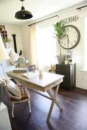 Creative Farmhouse Desk Ideas For The Home Office To Try 35