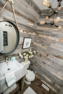 Elegant Bathroom Remodel Ideas With Stikwood That Looks Cool 10