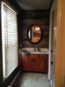 Elegant Bathroom Remodel Ideas With Stikwood That Looks Cool 14