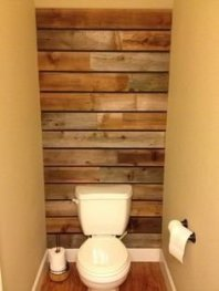Elegant Bathroom Remodel Ideas With Stikwood That Looks Cool 21
