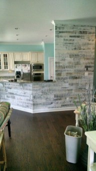 Elegant Bathroom Remodel Ideas With Stikwood That Looks Cool 29
