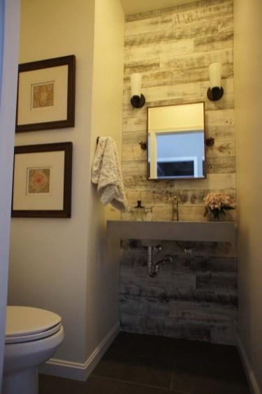 Elegant Bathroom Remodel Ideas With Stikwood That Looks Cool 33