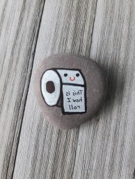 Fascinating Painted Rocks Quotes Design Ideas 12