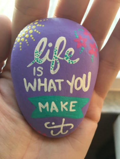 Fascinating Painted Rocks Quotes Design Ideas 14