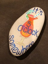 Fascinating Painted Rocks Quotes Design Ideas 48