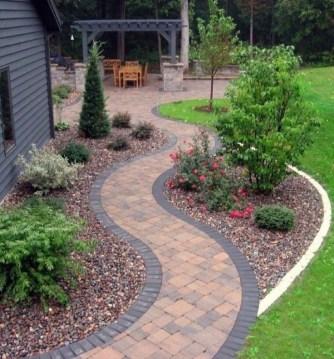 Rustic Garden Path Design Ideas To Copy Asap 08