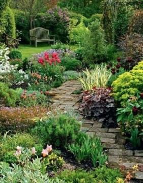 Rustic Garden Path Design Ideas To Copy Asap 09