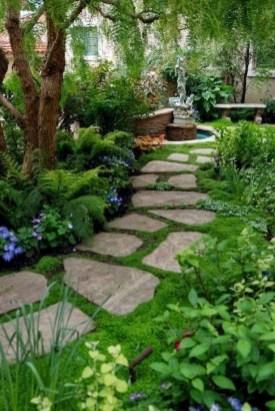 Rustic Garden Path Design Ideas To Copy Asap 33