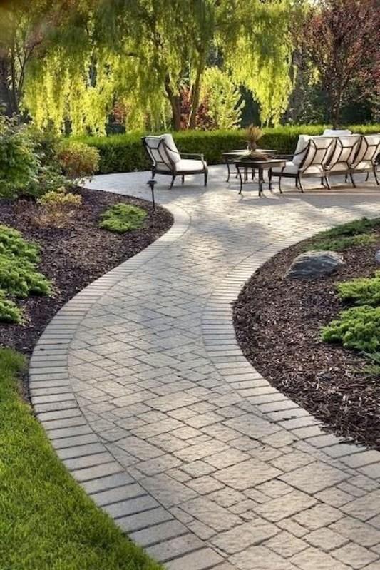 Rustic Garden Path Design Ideas To Copy Asap 40