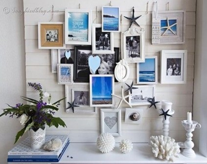 Unique Summer Mantel Decorating Ideas To Try 27