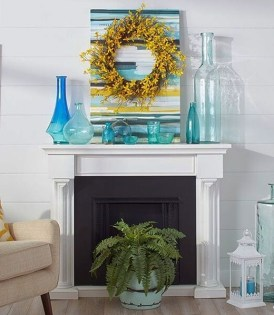 Unique Summer Mantel Decorating Ideas To Try 32