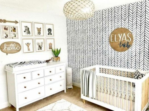 Unusual Neutral Nursery Room Ideas To Copy Asap 23