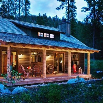 Wonderful Homes Plans Design Ideas With Log Cabin 12
