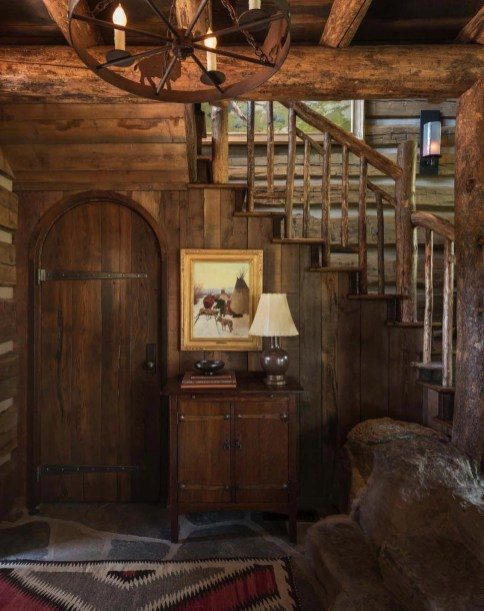 Wonderful Homes Plans Design Ideas With Log Cabin 14