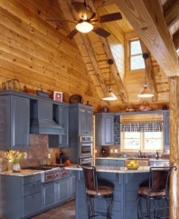 Wonderful Homes Plans Design Ideas With Log Cabin 20