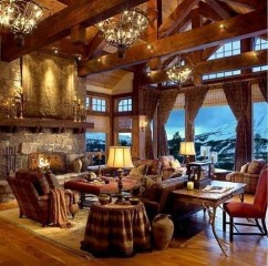 Wonderful Homes Plans Design Ideas With Log Cabin 21