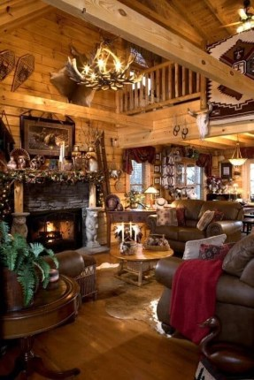 Wonderful Homes Plans Design Ideas With Log Cabin 25