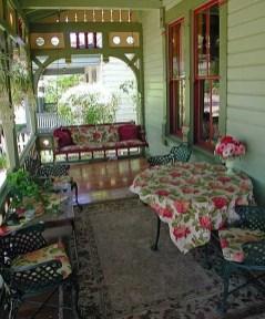 Adorable Green Porch Design Ideas For You 02