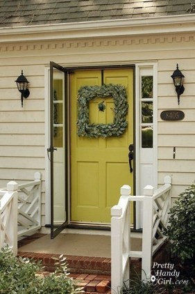 Adorable Green Porch Design Ideas For You 09