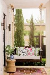 Adorable Green Porch Design Ideas For You 12