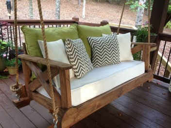 Adorable Green Porch Design Ideas For You 13