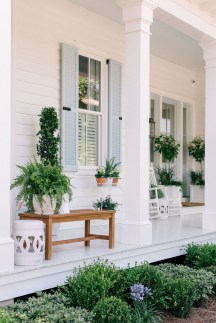 Adorable Green Porch Design Ideas For You 24