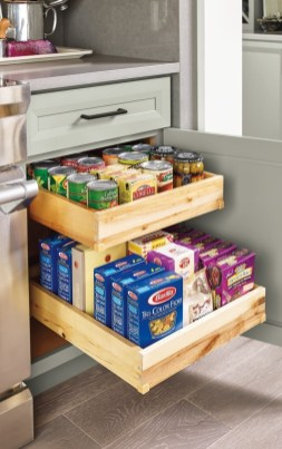 Affordable Kitchen Storage Ideas To Try 34
