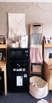 Beautiful Dorm Room Organization Ideas To Try Asap 02