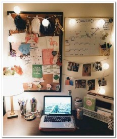 Beautiful Dorm Room Organization Ideas To Try Asap 21