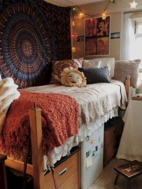 Beautiful Dorm Room Organization Ideas To Try Asap 25