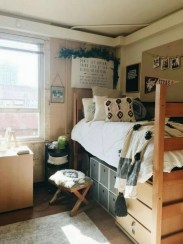 Beautiful Dorm Room Organization Ideas To Try Asap 43